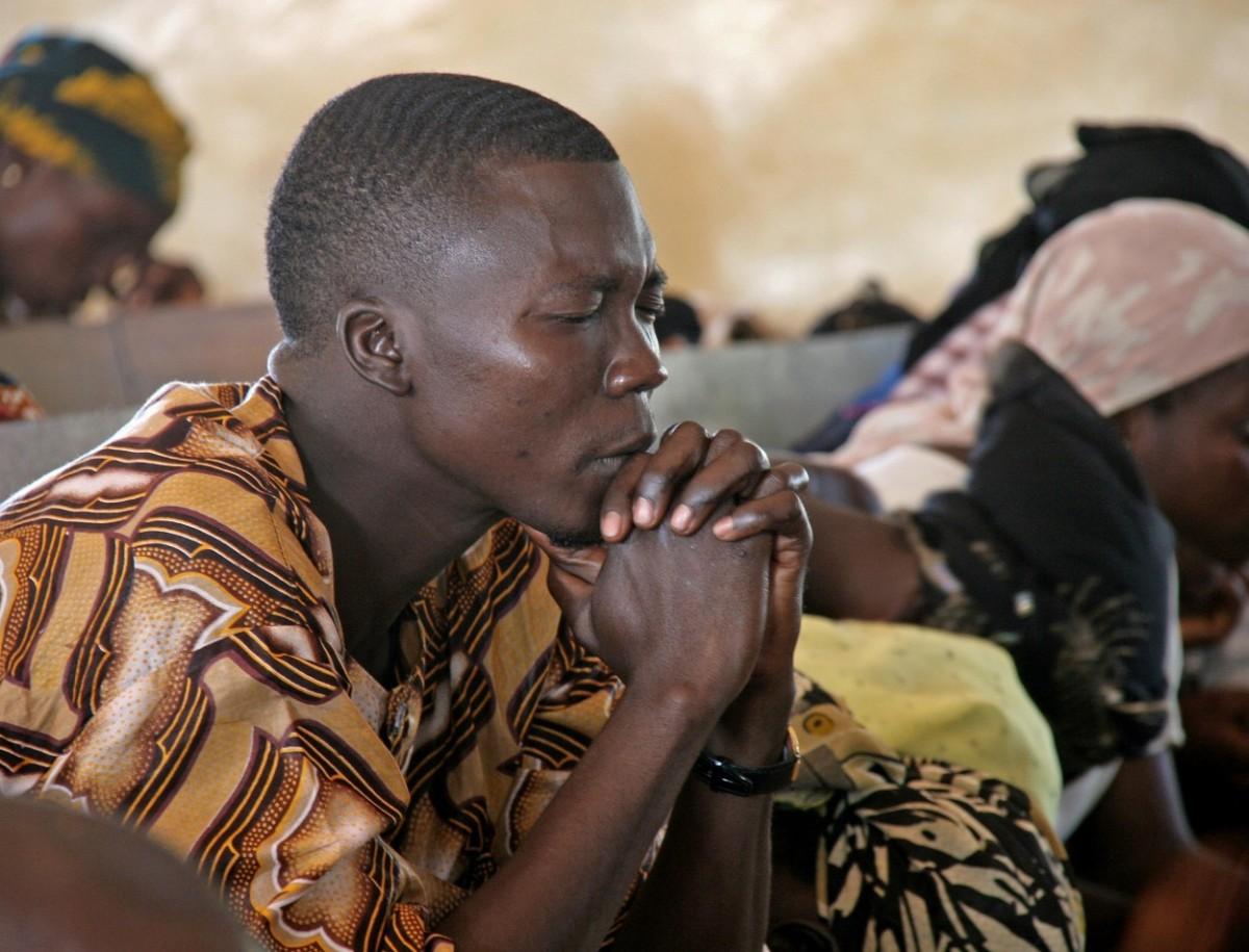 La meilleure façon de remercier Dieu était de se retrousser les manches.